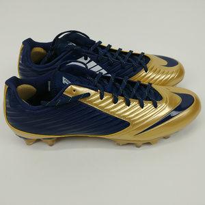 size 40 2e0a8 b4ecb Nike Shoes - Nike Vapor Speed Low TD Cleats Blue Gold White 14